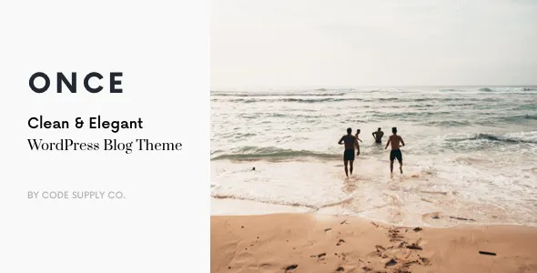 Once-Clean&Elegant-WP-Blog-Theme-Nulled-Download