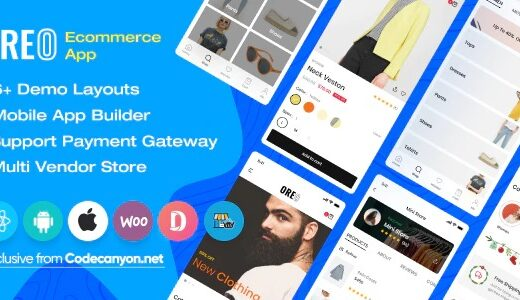 Oreo-Fashion-Nulled-React-Native-App-for-Woocommerce-Download