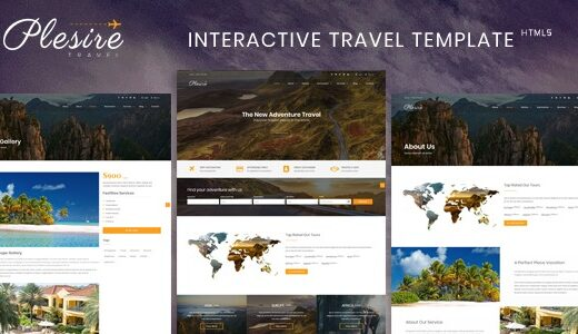 Plesire-Nulled-Interactive-Travel-Template-Nulled-download