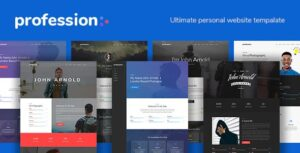 Profession-Personal-Website-Template-Download-Nulled