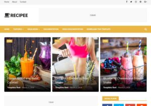 Recipee-Blogger-Nulled-Download