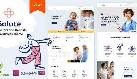 Salute-Nulled-Medical-Elementor-WordPress-Theme-Download