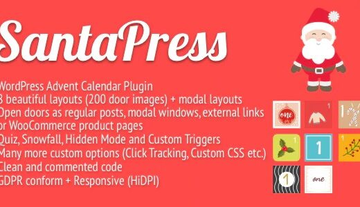 SantaPress-WordPress-Advent-Calendar-Plugin&Quiz-Nulled-Download
