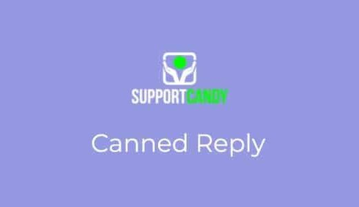 SupportCandy-Canned-Reply-Nulled-Download