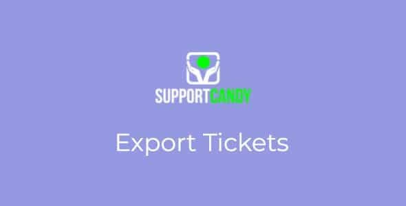 SupportCandy-Export-Ticket-Nulled-Download