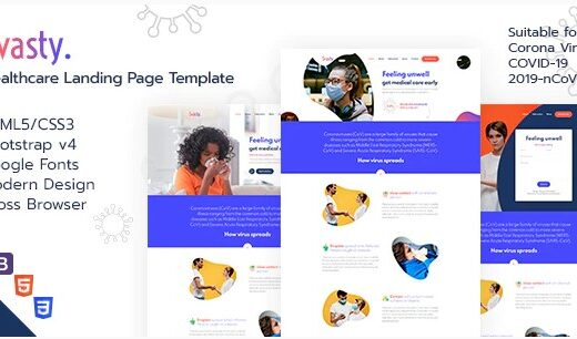 Svasty-Healthcare-Landing-Page-Template-Nulled-Download