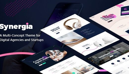 Synergia-Digital-Agency-Theme-Nulled-Download