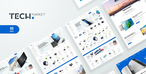 TechMarke-Nulled-Ultimate-Shopify-Template-Nulled-Download