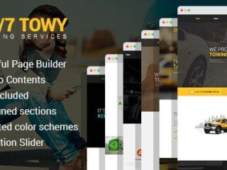 Towy-Emergency-Auto-Towing-and-Roadside-Assistance-Service-WordPress-theme-Nulled-Download