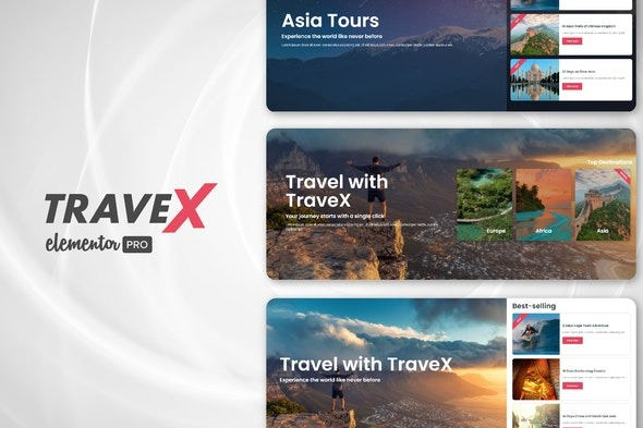 TraveX-Travel&Tour-Agency-Template-Kit-Nulled-Download