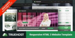 Truehost-Nulled- Responsive-HTML5-Hosting-Template-Nulled-Download