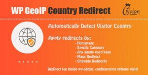 WP-GeoIP-Country-Redirect-Nulled-Download