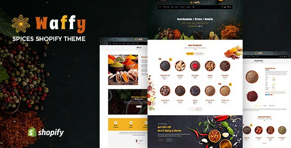 Waffy-Nulled-Spices-Dry-Fruits-Store-Shopify-Theme-Nulled-Download