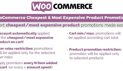 WooCommerce-Cheapest&Most-Expensive-Product-Promotions-Nulled-download