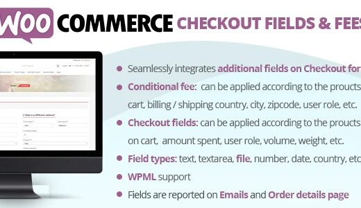 WooCommerce-Checkout-Fields&Fees-Nulled-Download
