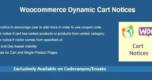 Woocommerce-Dynamic-Cart-Notices-Nulled-Download