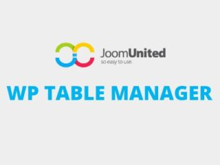 WordPress-JoomUnited-WP-Table-Manager-Download