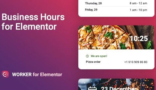 Worker-Nulled-Business-hours-widget-for-Elementor-Download