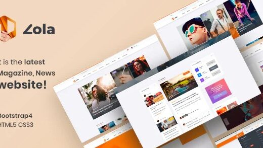 Zola-Magazine-News-HTML5-Template-Nulled-Download