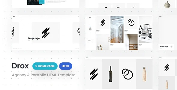 drox-agency&portfolio-html5-responsive-template-Nulled-Download