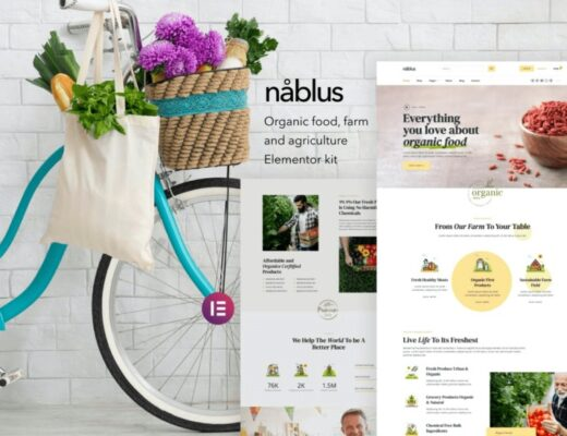 nablus-nulled-download-Organic-Food&Agriculture-Temlete-Kit