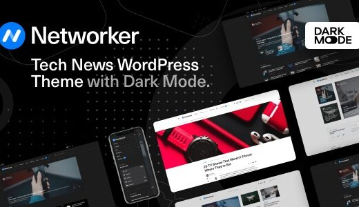 networker-tech-news-wordpress-theme-with-dark-mode-Nulled-Download