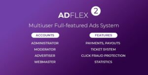 AdFlex-Multi-User-Full-featured-Ads-System-Nulled