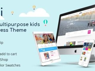Aki-Multipurpose-Kids-WordPress-Theme-Nulled-Download