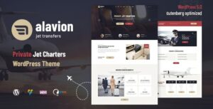 Alavion-Private-Jet-Charters-WordPress-Theme-Nulled-Download