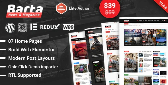 Barta-News&Magazine-WordPress-Theme-Nulled-Download