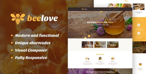 Beelove-Nulled-Honey-Production-and-Sweets-Online-Store-WP-Theme-Nulled-Download