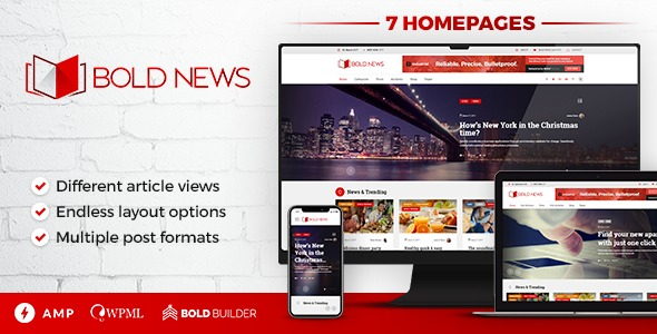 Bold-News-Nulled-WordPress-Magazine&Newspaper-Theme-Download