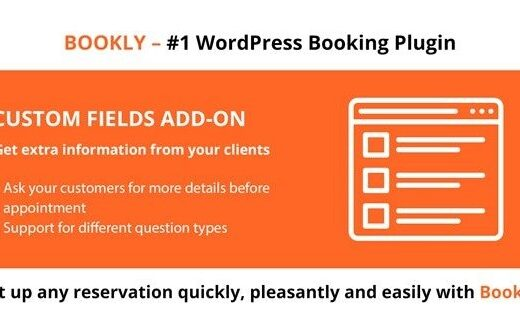 Bookly-Custom-Fields-Add-on-Nulled-Download