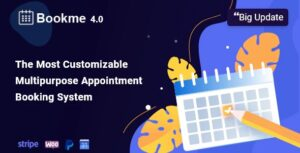 Bookme-WordPress-Appointment-Booking-Scheduling-Plugin-Nulled-Download