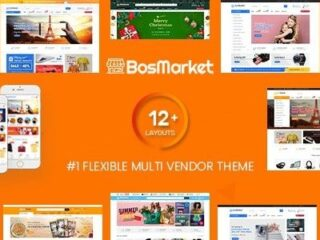BosMarket-Flexible-Multivendor-Woo-WP-Nulled-Download