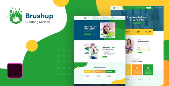Brushup-Nulled-Cleaning-Service-Company-WordPress-Theme-Download