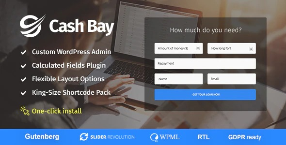 Cash-Bay-Loan&Credit-Money-WP-Theme-Nulled-Download