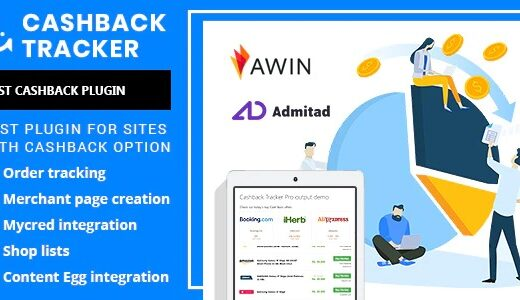 Cashback-Tracker-Pro-Nulled-Download-Wordpress