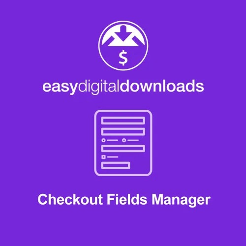 Easy-Digital-Downloads-Checkout-Fields-Manager-Nulled-Download