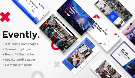 Evently-Nulled-Conference&Meetup-Theme-Download