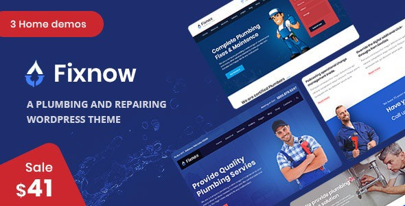 Fixnow-Nulled-A-Perfect-Plumbing-WordPress-Theme-Download