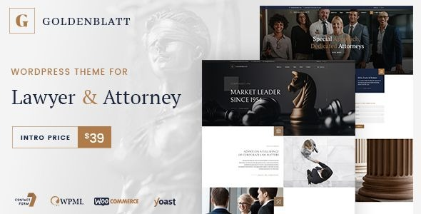 Goldenblatt-Lawyer-Attorney&Law-Office-Nulled-Download