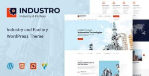 Industro-Industry&Factory-WordPress-Theme-Nulled-Download