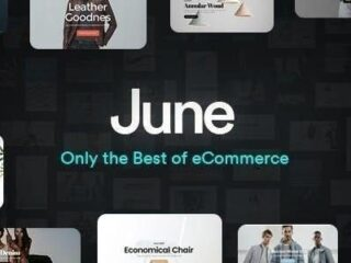 June-WooCommerce-Theme-preview-Nulled-download