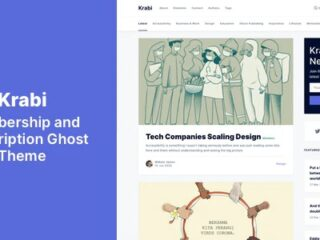Krabi-Membership-and-Subscription-Ghost-Theme-Nulled-Download