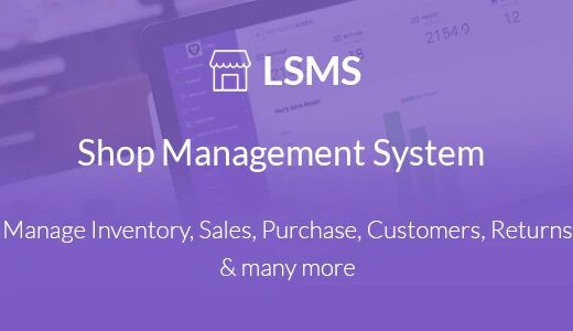 LSMS-Shop-Management-System-Nulled-Download
