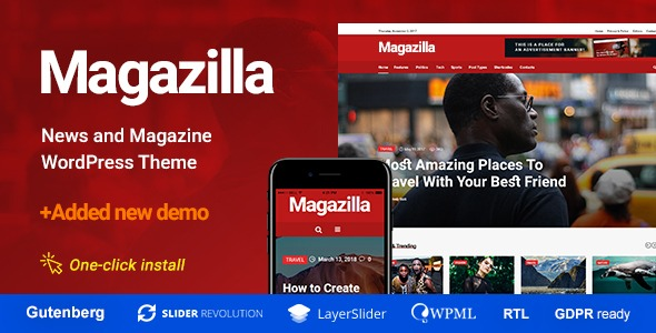 Magazilla-Nulled-News&Magazine-Theme-Download