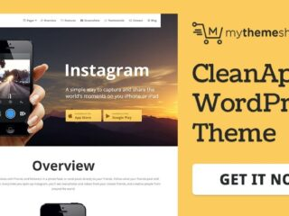 MyThemeShop-Cleanapp-WordPress-Theme-Nulled-Download