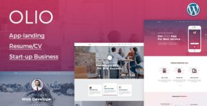 Olio-One-Page-WordPress-Theme-Nulled-Download