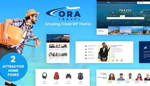 Ora-Tour-Travel-Booking-WordPress-Theme-Nulled-Download